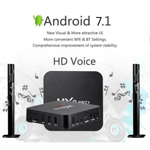 MXQ Pro 4k Android TV Box 2GB16GB 2