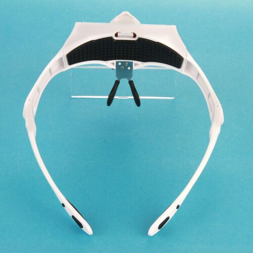 Headband Magnifier Glasses Headset with LED 4