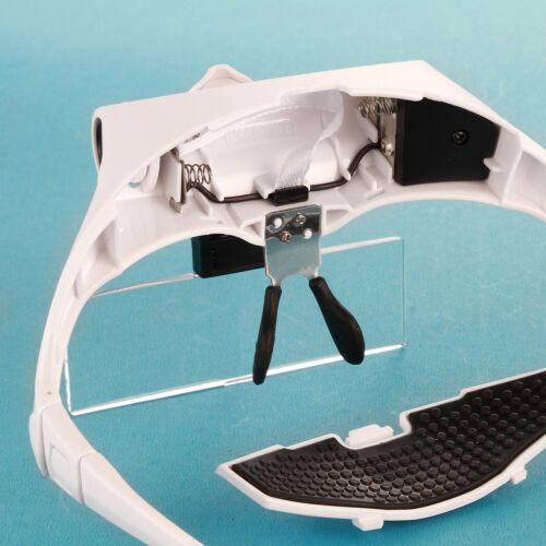 Headband Magnifier Glasses Headset with LED 5
