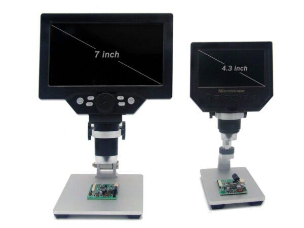 USB Digital Microscope 1200X 7 Inch Large Display 5