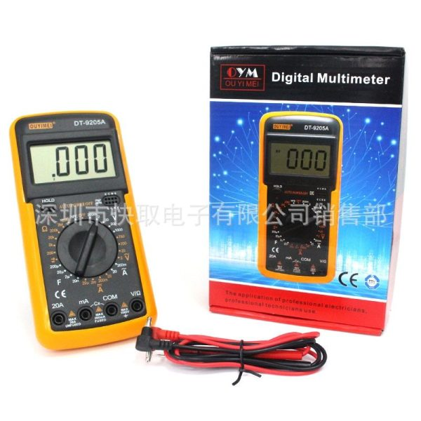 Ouyimei DT9205A Digital Multimeter in Bangladesh