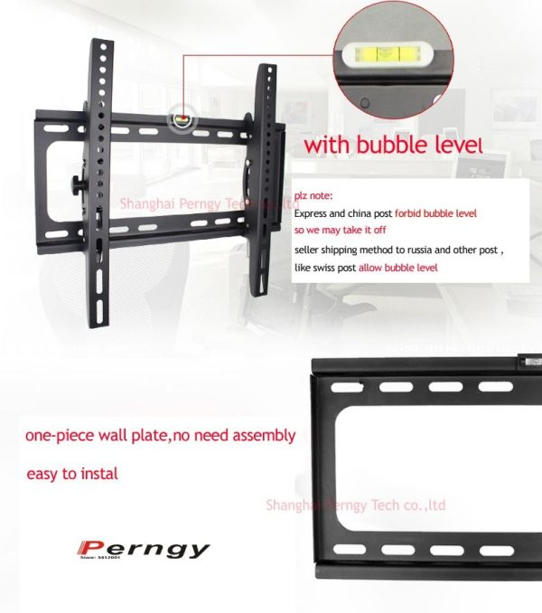 Adjustable TV Wall Mount Moving Bracket for 23-42 inch LED LCD TV 2