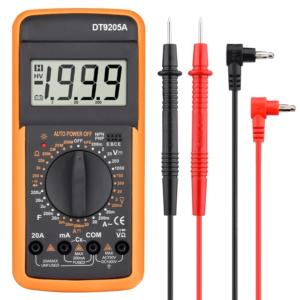 DT9205A Digital Multimeter digital serbaguna multimeter 9205A in Bangladesh