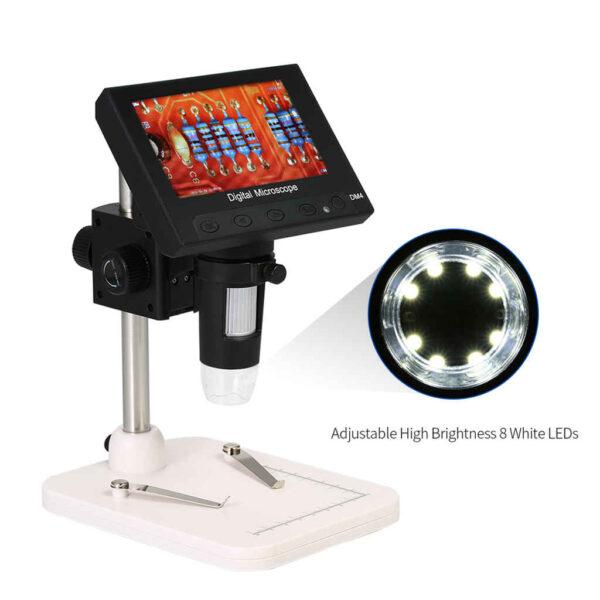 Digital Microscope 1000x DM4 4.3 Inch Lcd Display 1