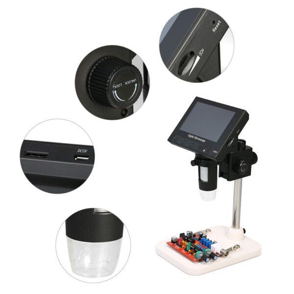 Digital Microscope 1000x DM4 4.3 Inch Lcd Display 4