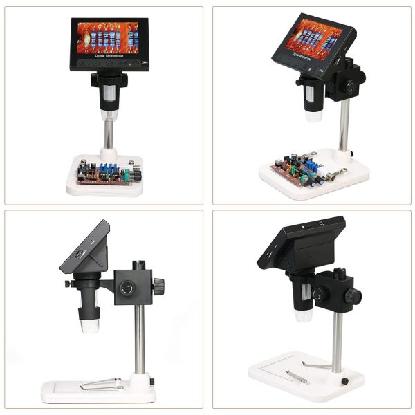 Digital Microscope 1000x DM4 4.3 Inch Lcd Display 5