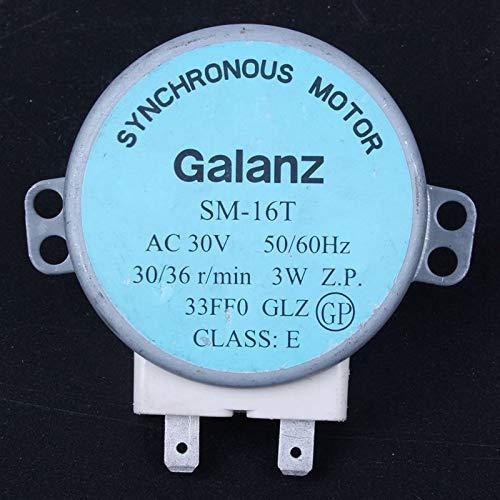 Galanz SM-16T Synchronous Motor 30V 4W 5 RPM 1