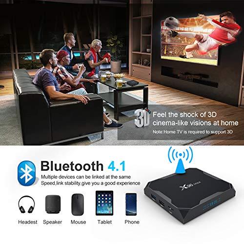 X96 MAX 4GB 32GB Android TV Box in Bangladesh