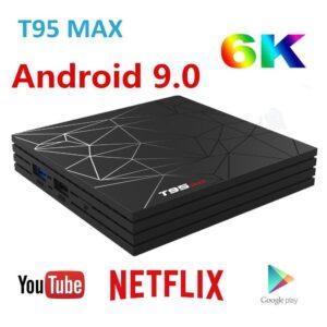 T95 Max Android TV Box 4GB 32GB Bangladesh