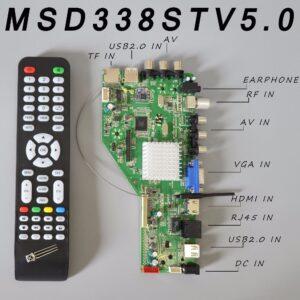 MSD338STV5.0 WiFi Smart Android TV Motherboard Bangladesh