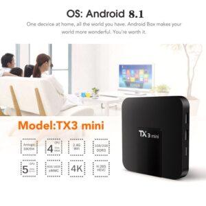 TX3 Mini Android TV Box Smart TV