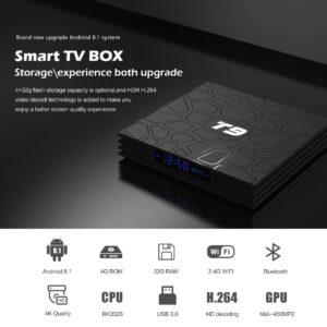 T9 Android TV Box 4GB 64GB Bangladesh
