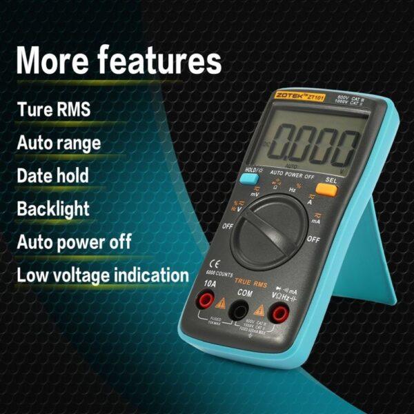 ZOTEK ZT101 Mini Auto Range Digital Multimeter 1