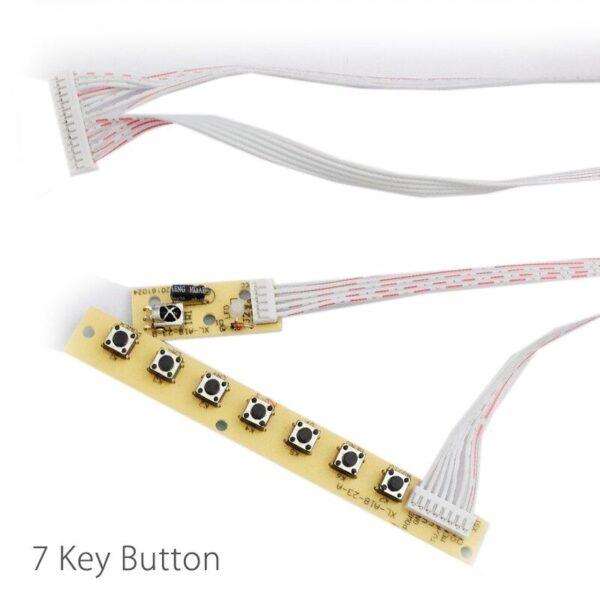 LED TV Universal 7 keys TV Keypad + IR 2