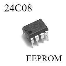24C08 Serial CMOS EEPROM Memory IC Bangladesh