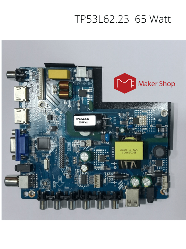 TP53L62.23 65W Universal TV Motherboard in Bangladesh