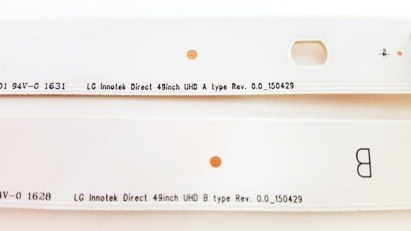 LG 49UH6030 LED Backlight 150429 / LG Innotek 49inch UHD A type Rev. 0.0_150429 B type Rev.0.0_150429 Bangladesh