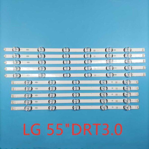 "LG 55"" TV Backlight 6+5LED DRT 3.0 55"" 55LB561V LG55LF5950 LG TV BacklightBangladesh"