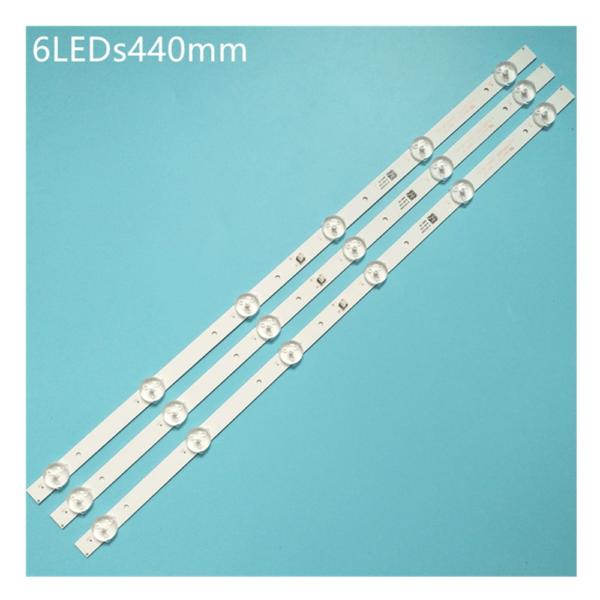 """6LED 44cm JL.D23661235-334AS-M_V01 for 24"""" TV"""